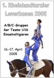1. Rheinland-Turnier Leverkusen 2005