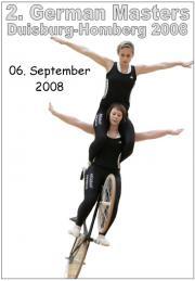2. German Masters im Kunstradfahren 2008