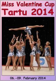 AGG Miss Valentine Cup Tartu 2014