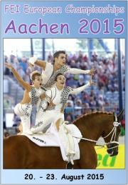 FEI European Vaulting Championships Seniors Aachen 2015