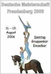 Deutsche Meisterschaft Voltigieren Freudenberg 2006