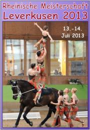 Rheinische Meisterschaften Voltigieren 2013
