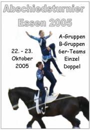 Abschiedsturnier des Rheinlands in Essen 2005