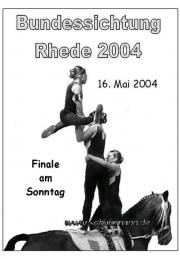 Bundessichtung in Rhede 2004
