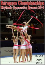 European Championships Rhythmic Gymnastics Bremen 2010