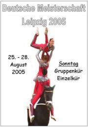 Deutsche Meisterschaft Voltigieren Leipzig 2005